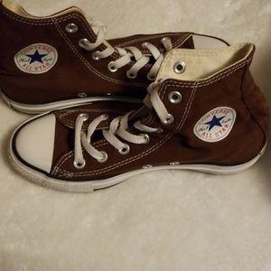 Converse Chuck Taylor All Star Chocolate High Tops